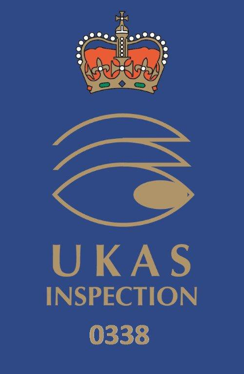 UKAS certified Inspection