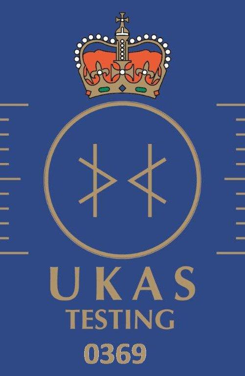 UKAS certified Testing